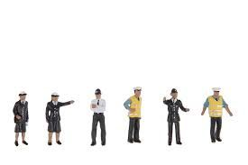 Bachmann 36-041 Police & Security Staff Figures