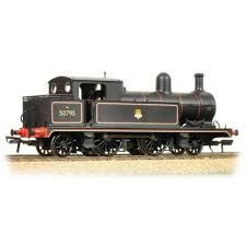 Bachmann 31-169 L&YR 2-4-2T 50705 BR Black Lined Early Crest