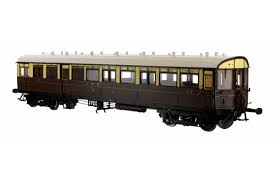 Dapol 7P-004-010 GWR Diagram 'N' 59' Autocoach 39 in GWR chocolate/cream Twin cities