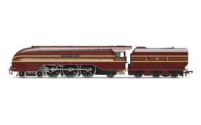 Hornby R3677 Streamlined Coronation Class 4-6-2 6229 Duchess of Hamilton LMS Maroon